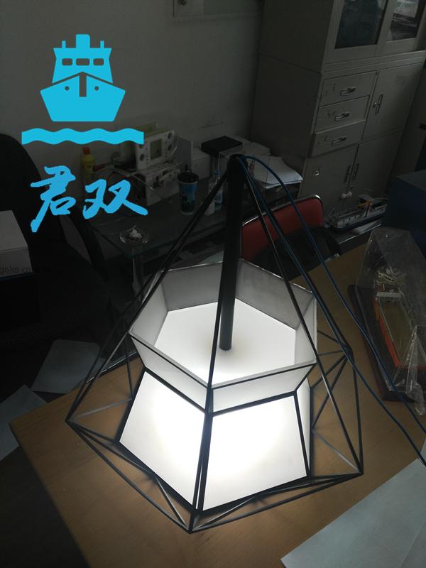 創意燈罩模型
