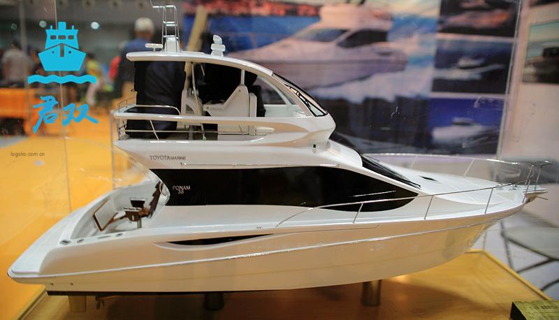 休闲型游艇模型