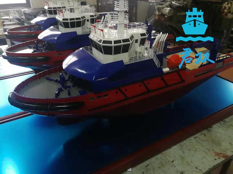 破冰拖船模型