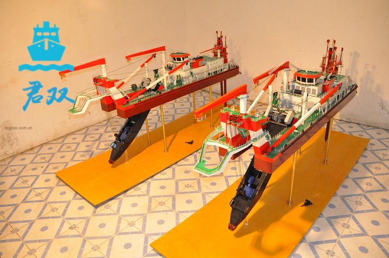 中国水电挖泥船模型