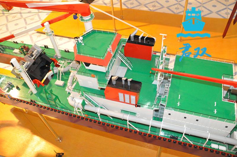 挖泥船模型制作
