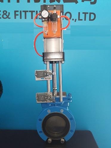 富樂新品發布-襯氟刀型閘閥