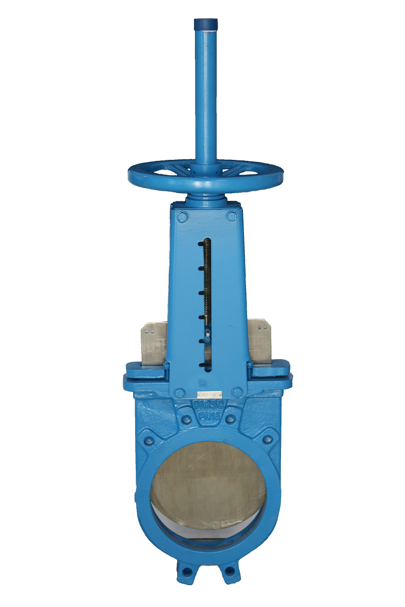 Knife Gate Valve, DI body, Handwheel operated