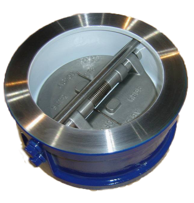 Carbon steel body wafer dual plate check valve