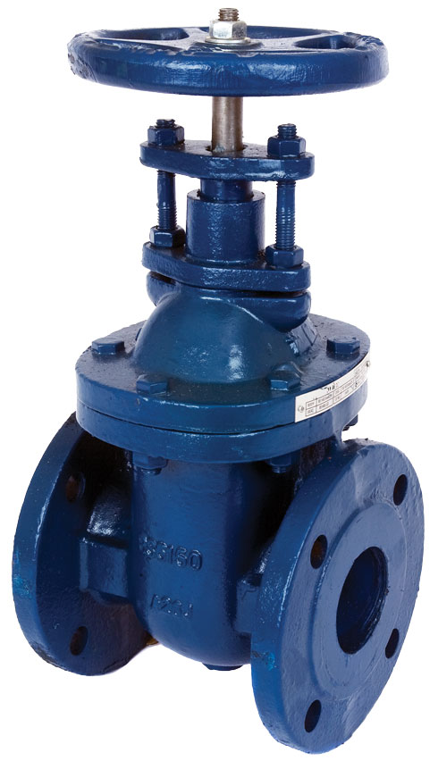 Iron body non-rising stem gate valve