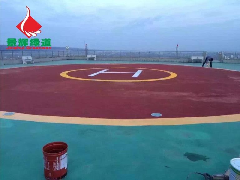 陶瓷颗粒彩色防滑路面材料