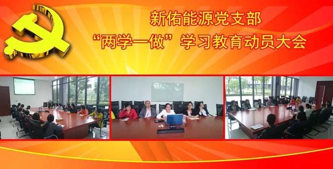 """威尼斯人官网能源党支部召开""""两学一做""""..."""