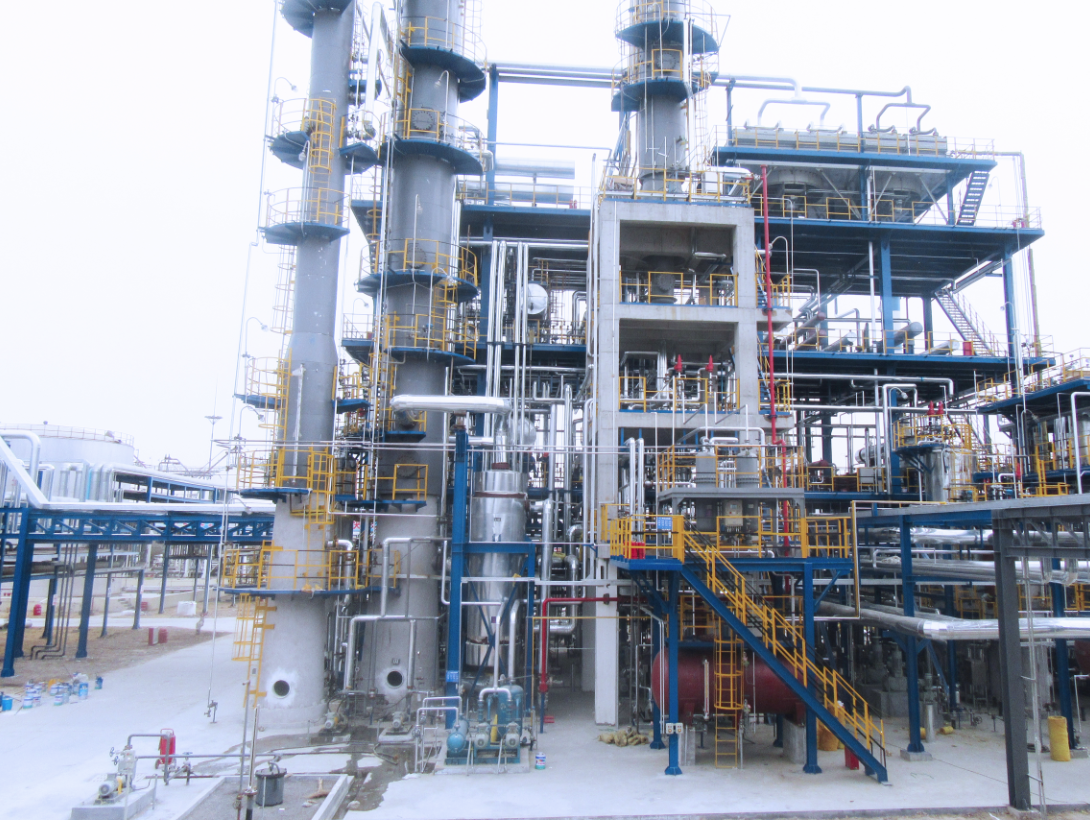 GUANGRAO HUABANG CHEMICAL CO., LTD 100kt/A C4 DEEP PROCESSING AND EXTENSION PROJECT