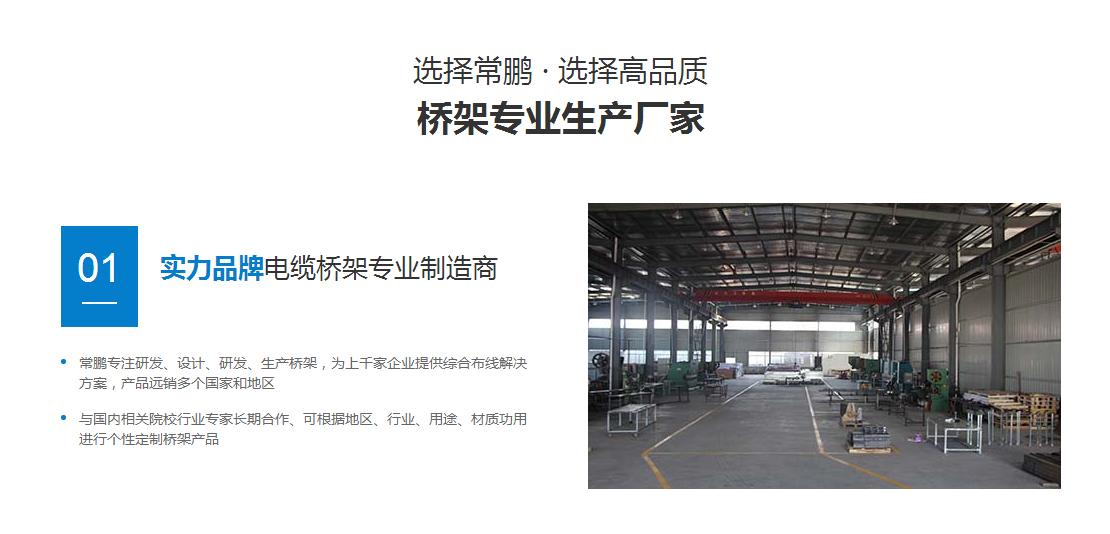 不銹鋼橋架專業生產廠家