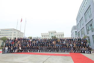 2015中國首屆裝飾藝術石膏行業發展高峰論壇暨 </p> 上海銀橋20周年慶合影