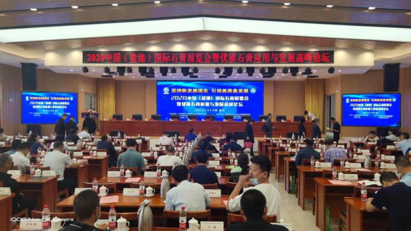 2020年9月4號 上海銀橋裝飾材料有限公司榮獲全國裝飾石膏科技創新示范企業