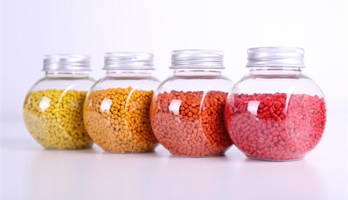 色母粒厂家鑫邦:造粒着色与色母着色有什么区别?