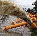泰国政府100台双吸排涝泵