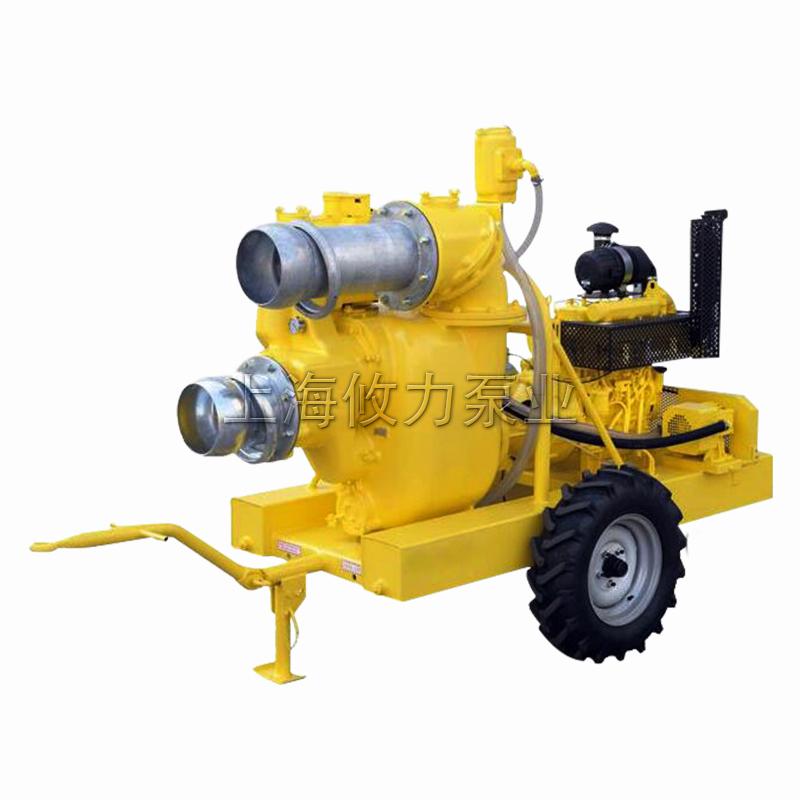 EJ系列柴油机自吸排污泵