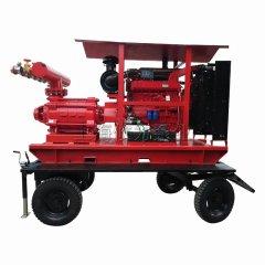 D系列移动式柴油机高扬程泵