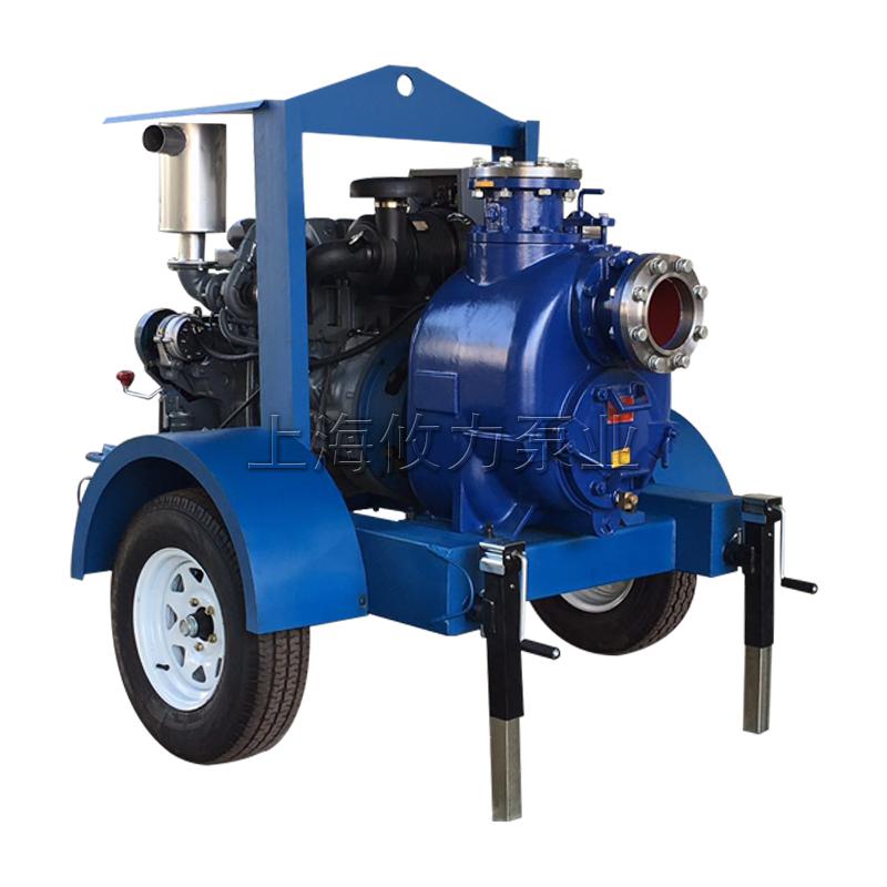 JT/JU系列拖车式柴油机自吸排污泵