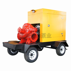 TPOW系列移动式柴油机双吸泵