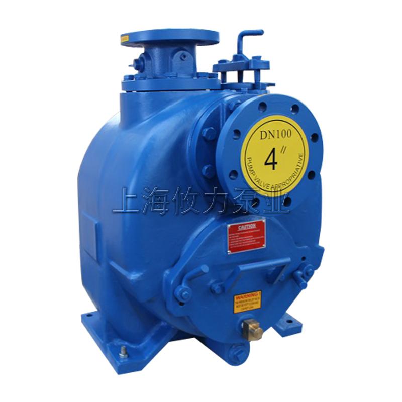 4寸自吸式无堵塞排污泵