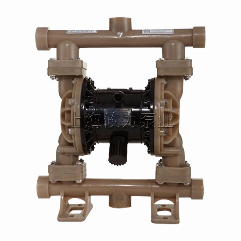 40mm耐腐蚀氟塑料气动隔膜泵