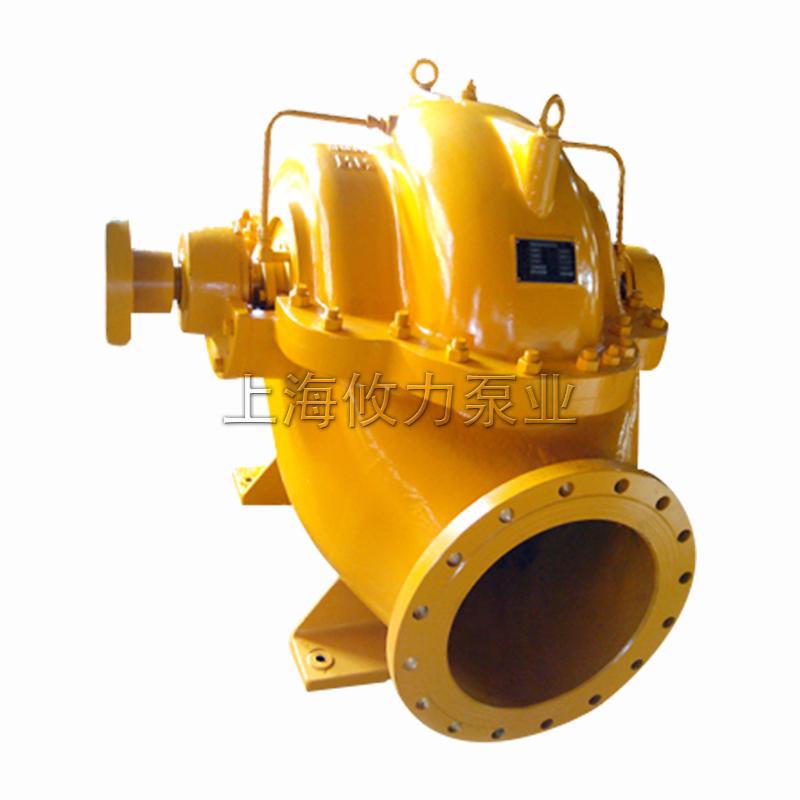 4寸单级双吸水平中开蜗壳式离心泵