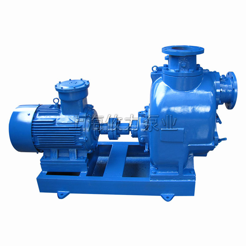 JT&JU系列无堵塞自吸排污泵带电机