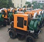 印度尼西亚+12台JT-8自吸泵带拖车, 压舱泵