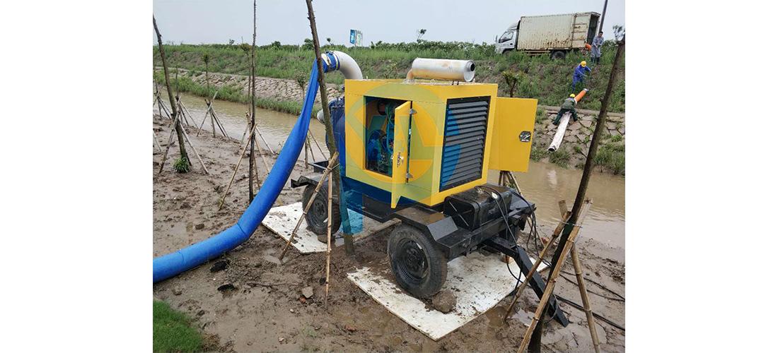 柴油机自吸泵储存