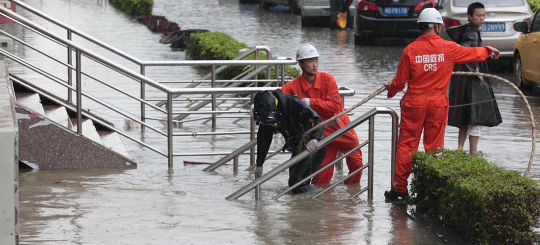城市防汛排涝很费力,攸力泵业祝您巧用力