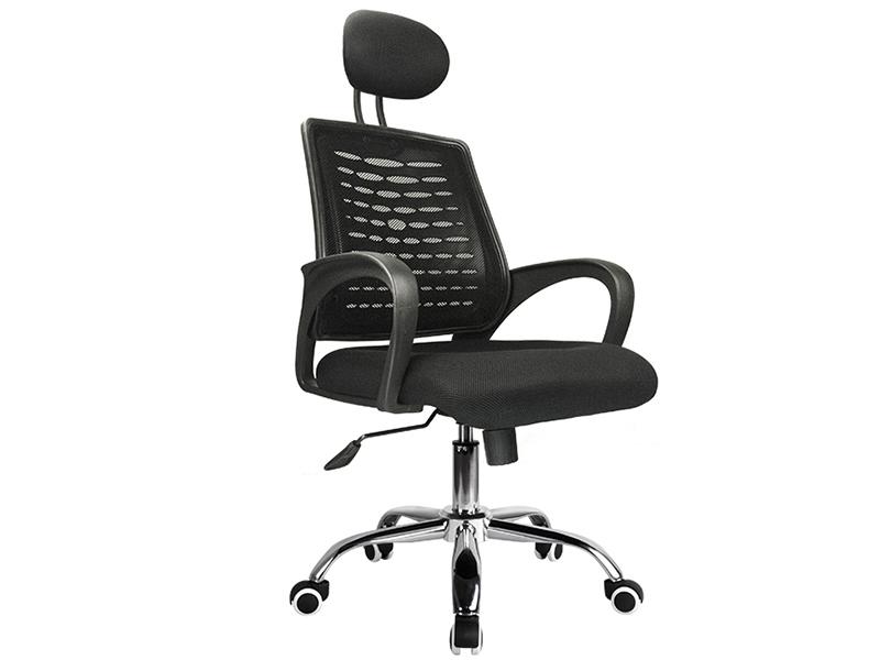网布职员椅 A71-黑钢T05GHH