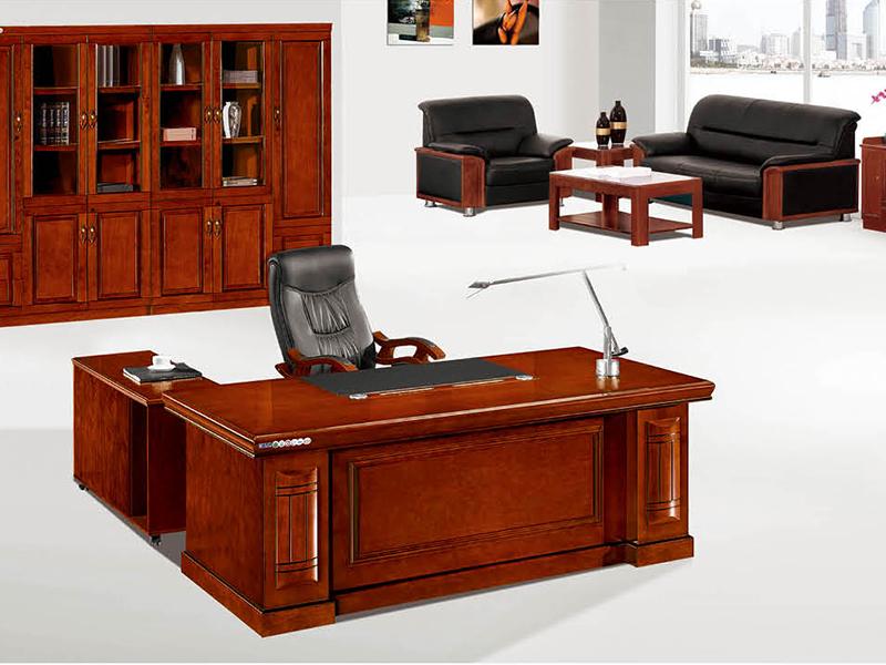 宝昇家具 实木经理桌