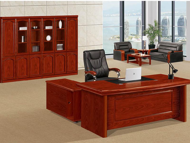 钜晟家具 实木经理桌