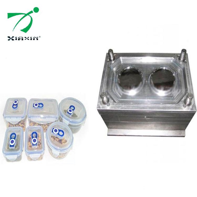塑料保鲜盒注塑模具