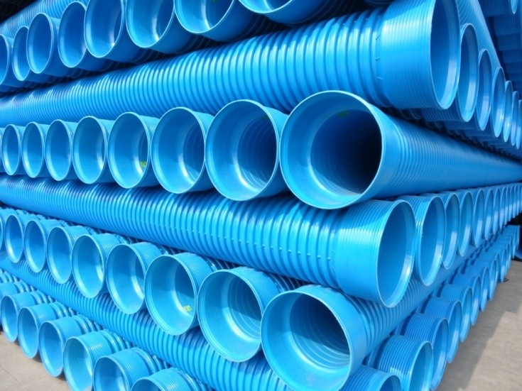 上海高抗冲PVC-M增强双壁波纹管