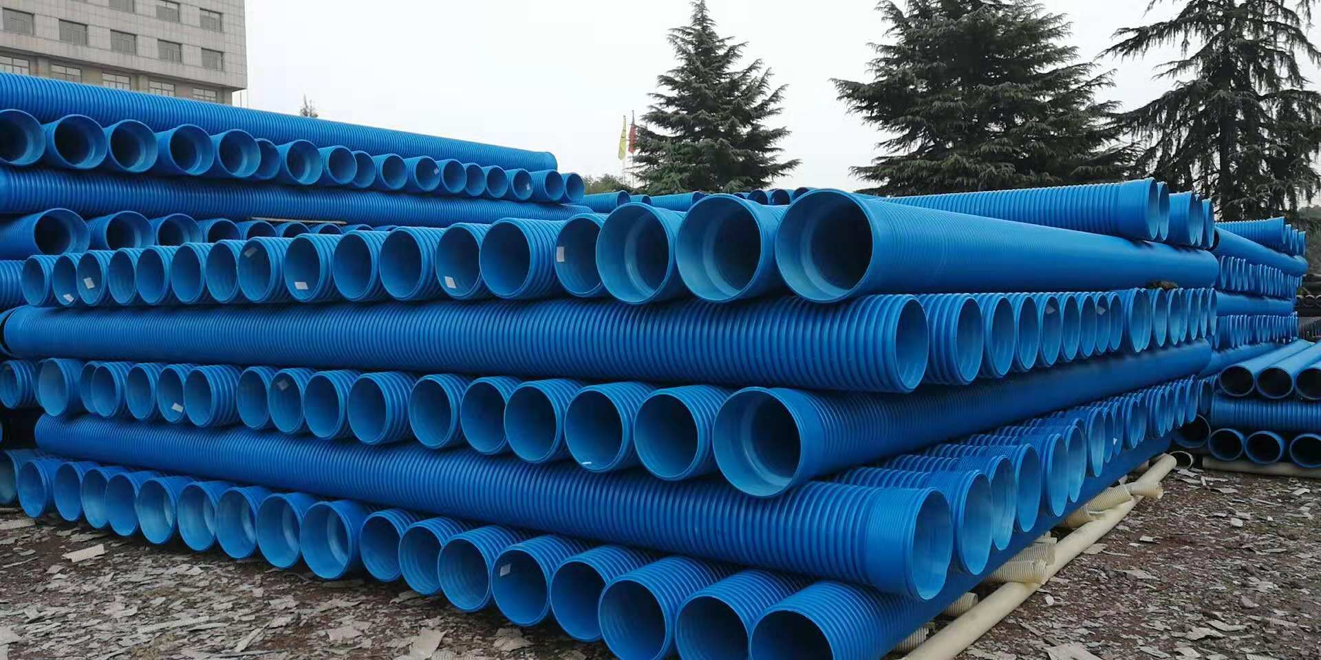 PVC-M增强双壁波纹管相较PVC-U管材的区别
