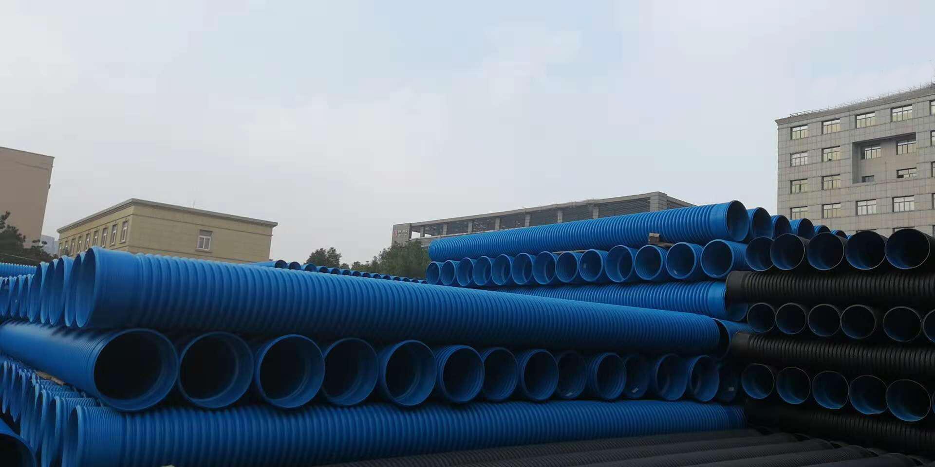高抗冲PVC-M增强双壁波纹管
