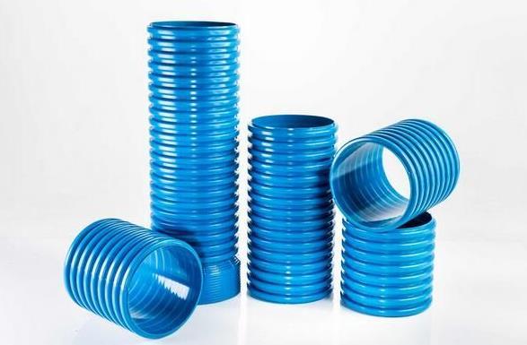 高抗冲PVC-M增强双壁波纹管图片
