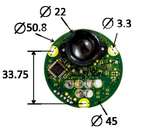 LDS40HM 40米激光测距传感器模块