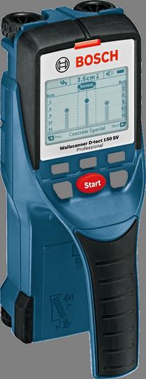 Bosch D-tect 150 SV专业型墙体探测仪