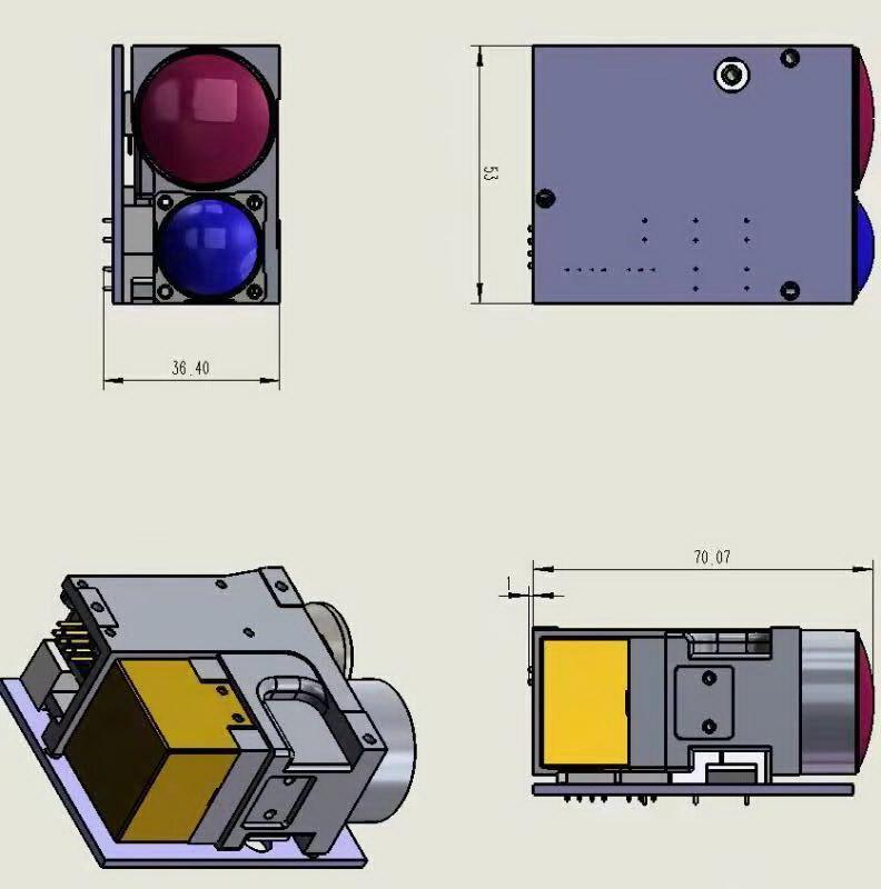 LDS-10106Pro远程激光测距模块