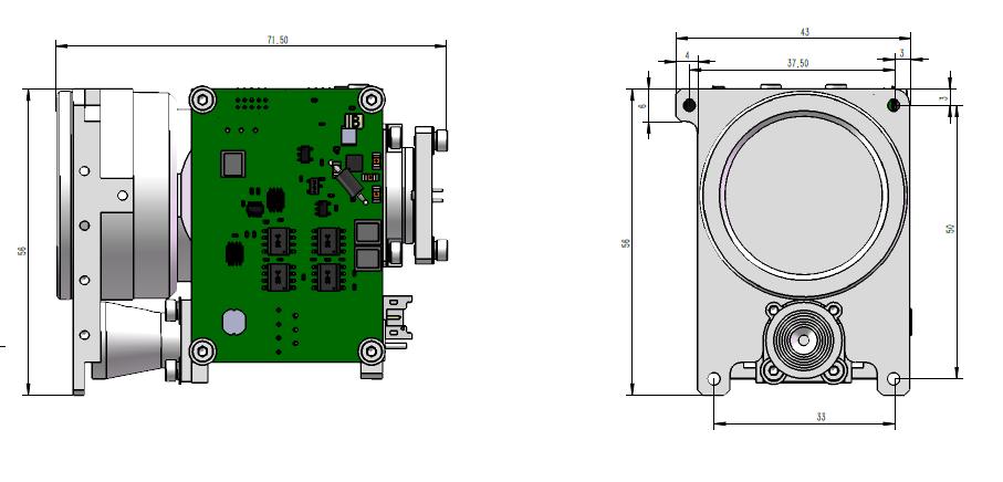 LDS-08154Pro遠程激光測距模塊