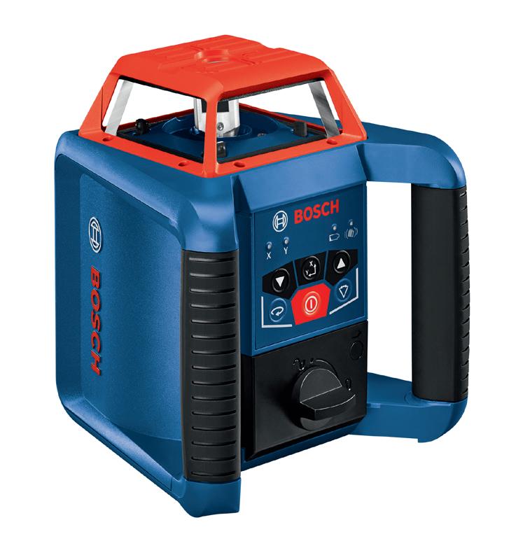 Bosch GRL350HV 高精度全自动激光扫平仪(可选配数显接收器)