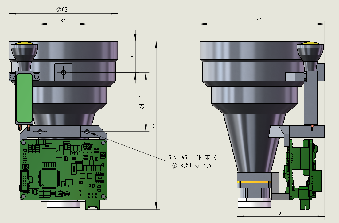 LDS-15154Pro遠程激光測距模塊