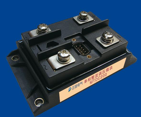 怎么使用智能晶闸管调压模块