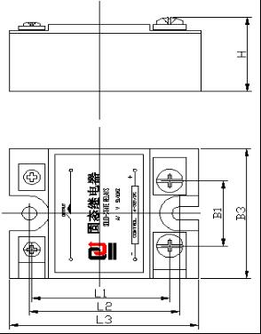 单向固态继电器(方形)