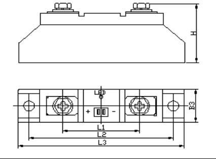 单相固态继电器(条型)
