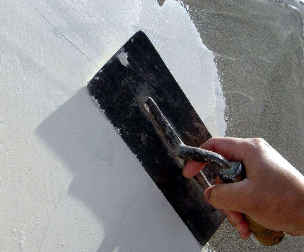 外墙耐水腻子施工