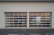 Auto 4S shop dedicated perspective lift door, aluminum alloy lift perspective door JP-TS01