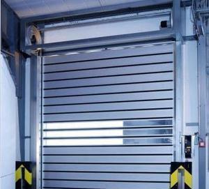 Rapid aluminum alloy shutter door