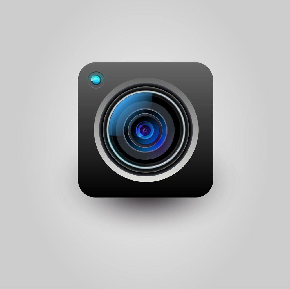 相机手板模型