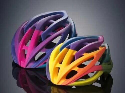 上海3D打印头盔手板模型